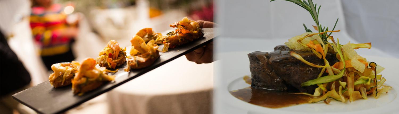 servicios de catering para bodas en Navarra